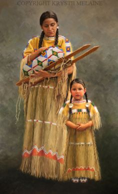 Mehohta - Love, Northern Cheyenne by Krystii Melaine Oil ~ x Native American Paintings, Native American Pictures, Native American Quotes, Native American Beauty, Indian Pictures, American Indian Art, Native American History, American Indians, American Symbols