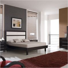 #bedroom #gray #black