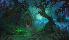 Graveyard by Minola-Belka on DeviantArt