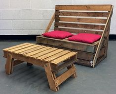 recycled pallets rustic furniture idea