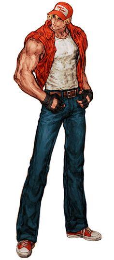 Terry Bogard de Capcom vs. SNK:  uno de los mejores