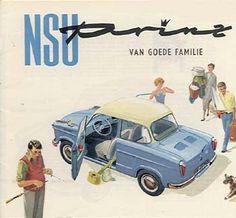 NSU Prinz autofolder - Sales Brochure