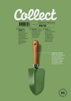Collect Magazine, October Simple colours and layout of image and typography. Poster Design, Poster Layout, Print Layout, Graphic Design Posters, Graphic Design Illustration, Poster Ideas, Design Typography, Layout Design, Graphisches Design