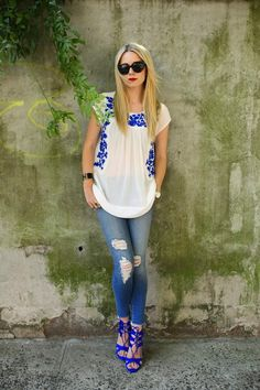 Jewel Tones Trend: How to Wear Sapphire Blue – Glam Radar