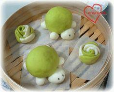 Turtle steam buns
