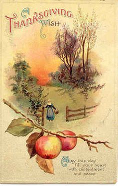 """"""" A Thanksgiving Wish For You """" Vintage 1914 Artist Ellen Clapsaddle Post Card. Thanksgiving Greeting Cards, Thanksgiving Pictures, Thanksgiving Blessings, Vintage Thanksgiving, Thanksgiving Crafts, Vintage Holiday, Happy Thanksgiving, Vintage Fall, Vintage Halloween"""