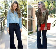 do it with flare || flare jeans for day