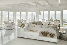 beach house, white done right! ...and how about that view?