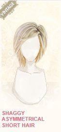 sorority life shaggy asymmetrical short hair - Google Search