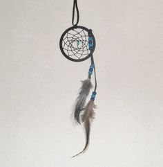 Black dream catcher Native American art by EnchantedRoseProduct