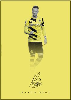 The Signature Series on Behance - Marco Reus - Borussia Dortmund