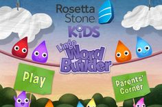 Rosetta Stone develops a new app to help aid children with mobile learning (2640)