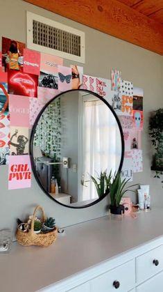 Cute Bedroom Decor, Room Ideas Bedroom, Room Decor Bedroom, Bedroom Inspo, Bedroom Designs, Wall Decor, Diy Teen Room Decor, Diy Room Decor Tumblr, Neon Bedroom