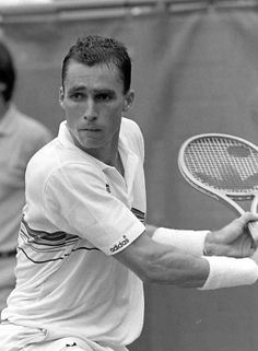 Ivan Lendl...great tennis player that won all major titles except Wimbledon!