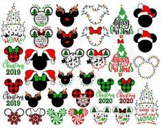 Disney Christmas SVG Bundle Christmas Svg Mickey | Etsy