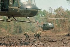 The Vietnam War Era -- The sound of those thundering blades were the sounds of singing angels for many wounded and/or dying American soldiers.