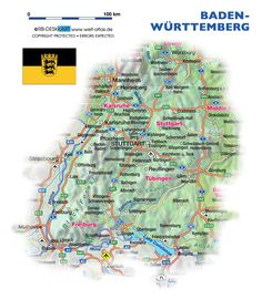 Wurttemberg germany map 1800