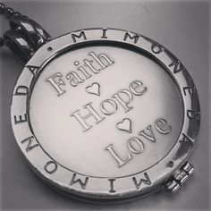 Faith, hope and love #mimoneda - @kimberly2102- #webstagram
