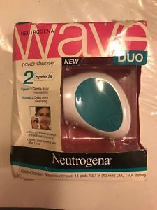 Neutrogena Wave Duo Power Cleanser 2 Speeds New Gentle Deep Pore Cleansing HTF Homemade Acne Treatment, Face Mapping, Pore Cleansing, Heath And Fitness, Nude Makeup, Hormonal Acne, Summer Skin, How To Treat Acne, Skin Firming