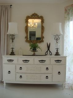 Paint Me White: Sideboard