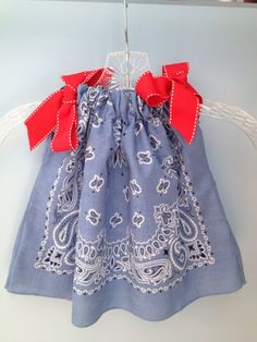 Baby Bandana Pillow Case Dress