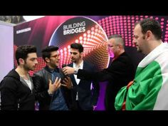 17.05 | Live in Vienna | ESC 2015 | Interview with Il Volo (Italy)