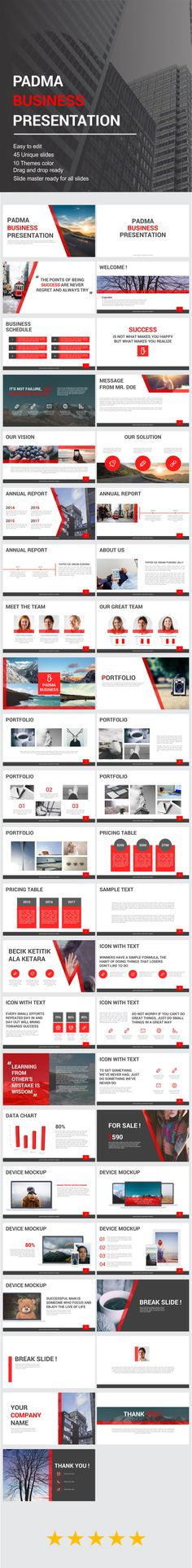 Lona Presentation Template Presentation templates, Business - business presentation template