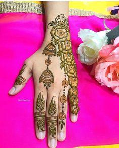 Round Mehndi Design, Mehndi Designs For Kids, Henna Tattoo Designs Simple, Beginner Henna Designs, Mehndi Designs Book, Modern Mehndi Designs, Mehndi Designs For Fingers, Simple Henna Patterns, Mehendhi Designs