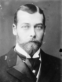 King George V, 1893. By 1915 England finally had a king, King George V who could speak English without a German accent. Until then, many English kings never spoke the King's English. They spoke only German because for almost two hundred years, from 1714 until this century, a long line of Germans ruled the British  empire. In 1917 the royals changed their German Saxe-Coburg and Gotha (Branch of House of Wettin) name to Windsor