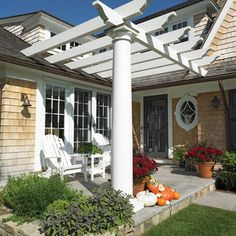 Front Door Pergola Design Ideas, Pictures, Remodel, and Decor - page 3