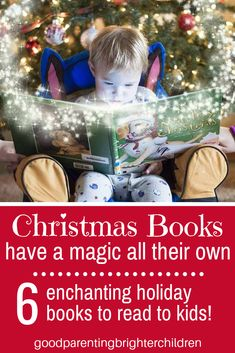 Here are 6 of the best Christmas books ever! And 12 super fun activities to add to your Christmas reading while creating holiday family memories. Christmas Traditions Kids, Christmas Activities For Families, Family Traditions, Christmas Books For Kids, Books For Boys, Christmas Ideas, Diy Gifts For Kids, Holiday Crafts For Kids, Infant Activities