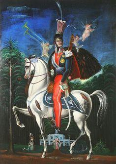 Zygmunt Waliszewski - Prince Joseph Poniatowski on Horseback