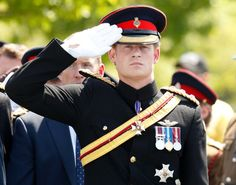 Pin for Later: 49 Photos That Prove Prince Harry Was Born to Wear a Uniform