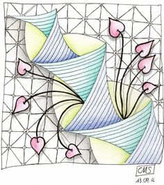 challenge 184001 (445x500) Zentangle Drawings, Doodles Zentangles, Abstract Drawings, Zentangle Patterns, Oil Painting Abstract, Tangle Doodle, Tangle Art, Doodle Art, Art Zen