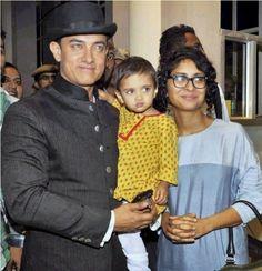 #Bollywood #Stars and Their #Family #Pics #amirkhan