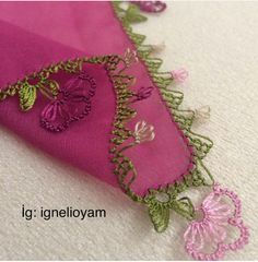 Embroidery Neck Designs, Ribbon Embroidery, Tatting Patterns, Crochet Patterns, Diy And Crafts, Arts And Crafts, Chicken Scratch Embroidery, American Girl Crafts, Jewelry Design Earrings
