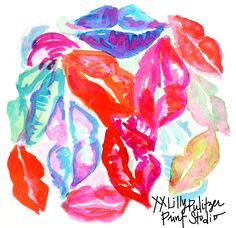 Pucker up. #lilly5x5 #nationallipstickday