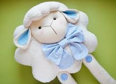 Resultado de imagem para almofada ovelha tecido