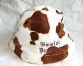 http://www.etsy.com/treasury/MjIwNzc0ODZ8MjcyMDgwNjcxNQ/honeyFaux fur cow print bucket hat by Hamlet Pericles
