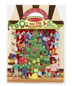 Look at this Melissa & Doug 'Tis the Season Puffy Stickers on #zulily today!