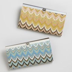 Flame Stitch Wallet