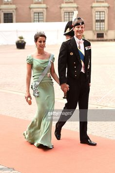 Prince Joachim of Denmark and Princess Marie Agathe of Denmark attend the royal wedding of Prince Carl Philip of Sweden and Sofia Hellqvist at The Royal Palace on June 13, 2015 in Stockholm, Sweden.  (Photo by Ian Gavan/Getty Images)