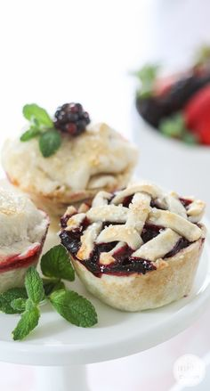 Berry Cup Pies
