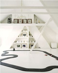 playroom in white