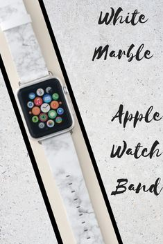 Shop White Marble Apple Watch Band created by redbook. Best Apple Watch, Apple Watch Series 1, Apple Watch Bands, Marble Watch, Apple Fitness, Best Mothers Day Gifts, Band Outfits, Sale Promotion, Series 4