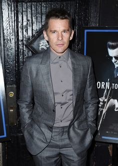 Presents Ethan Hawke Sally Hawkins And Aisling Walsh Discussing Maudieの画像/写真/イメージ Ethan Hawke, Sally, Breast, Suit Jacket, Suits, Jackets, York, Blue, Fashion