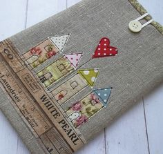 Ipad Mini Case Linen Designed by Pants and Paper in Kent