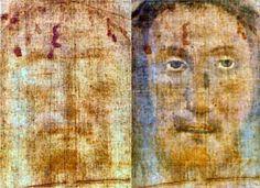 Sindone di Torino Volto Santo di Manoppello: Il volto di Manoppello mostra Gesù Cristo un istante prima della resurrezione <3