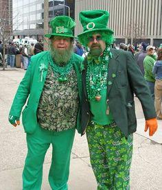 Déguisement de la Saint Patrick