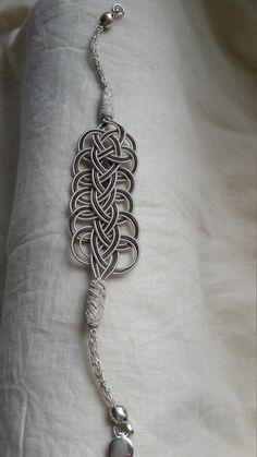 Silver barcelet by SilverseaByMuge on Etsy